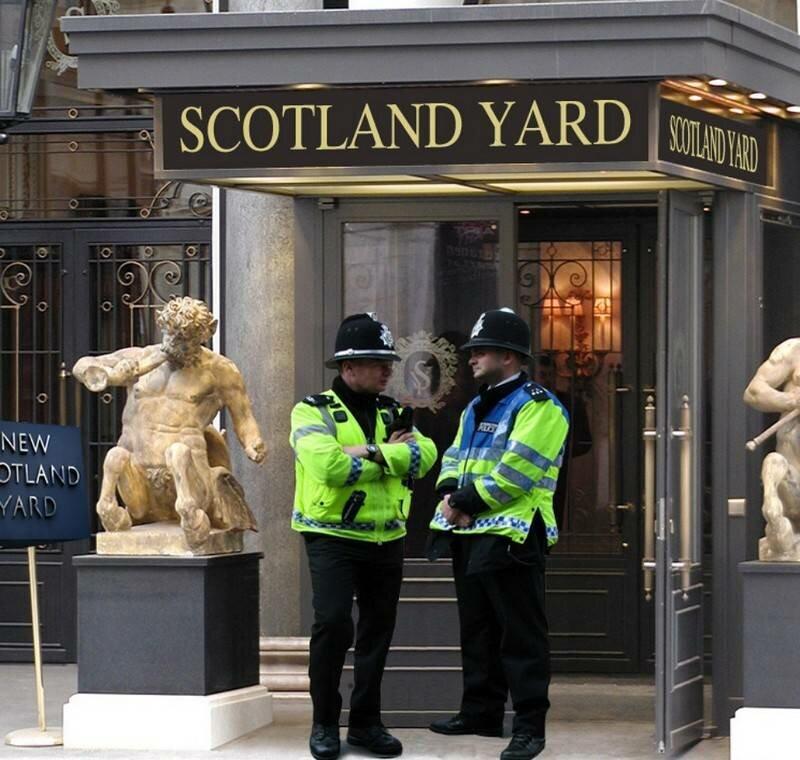29 сентября 1829 года создана уголовная полиция Лондона, получившая название Скотланд-Ярд