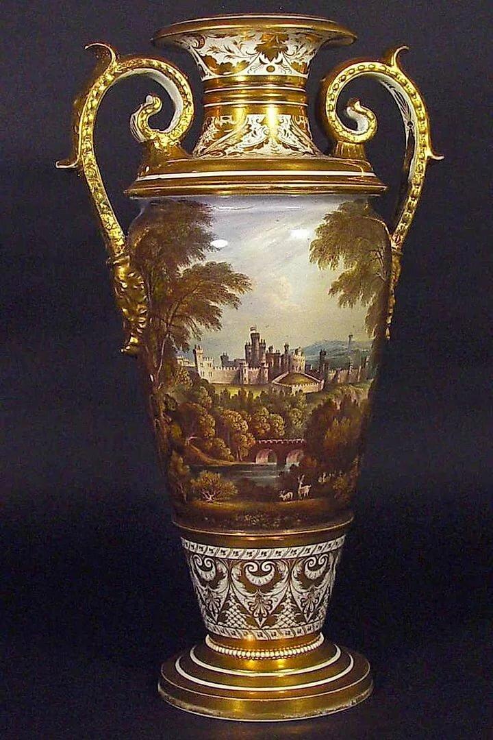 Красивые старинные вазы картинки