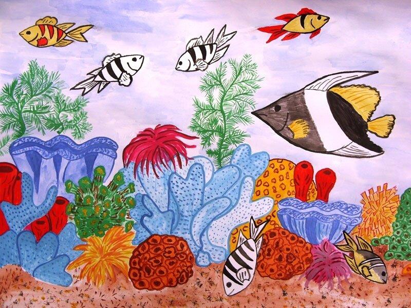 Рисунок на тему океан знаний