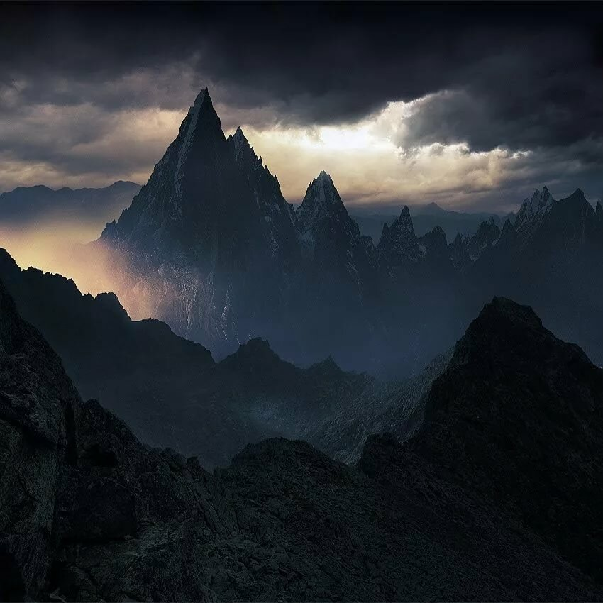 желанию мрачные ночные горы картинки этот