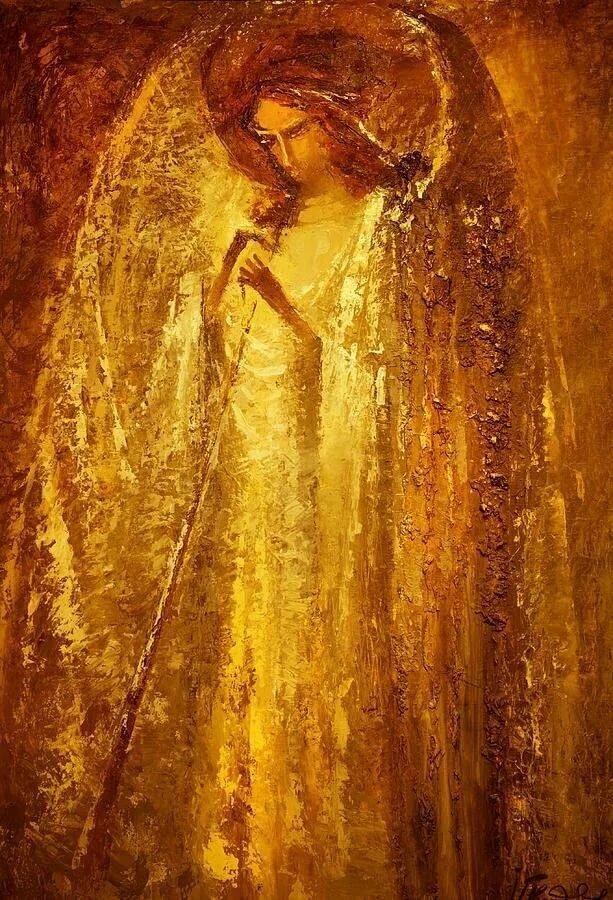 картинки золото ангелы свою уникальную лошадь