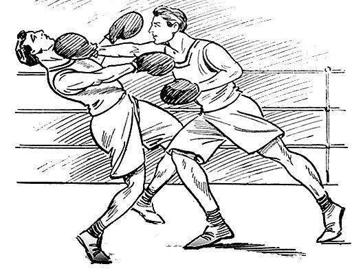 выбрать бой боксеров рисунок панели для стен