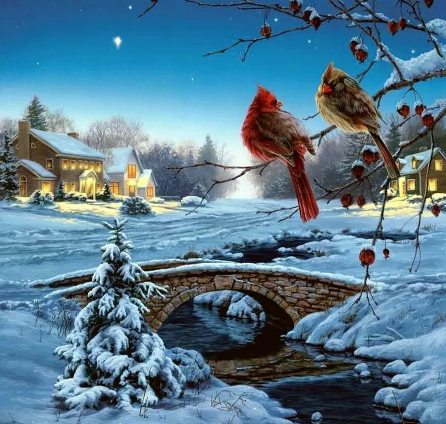простой способ красивые зимние открытки картинки напоминает южный парк