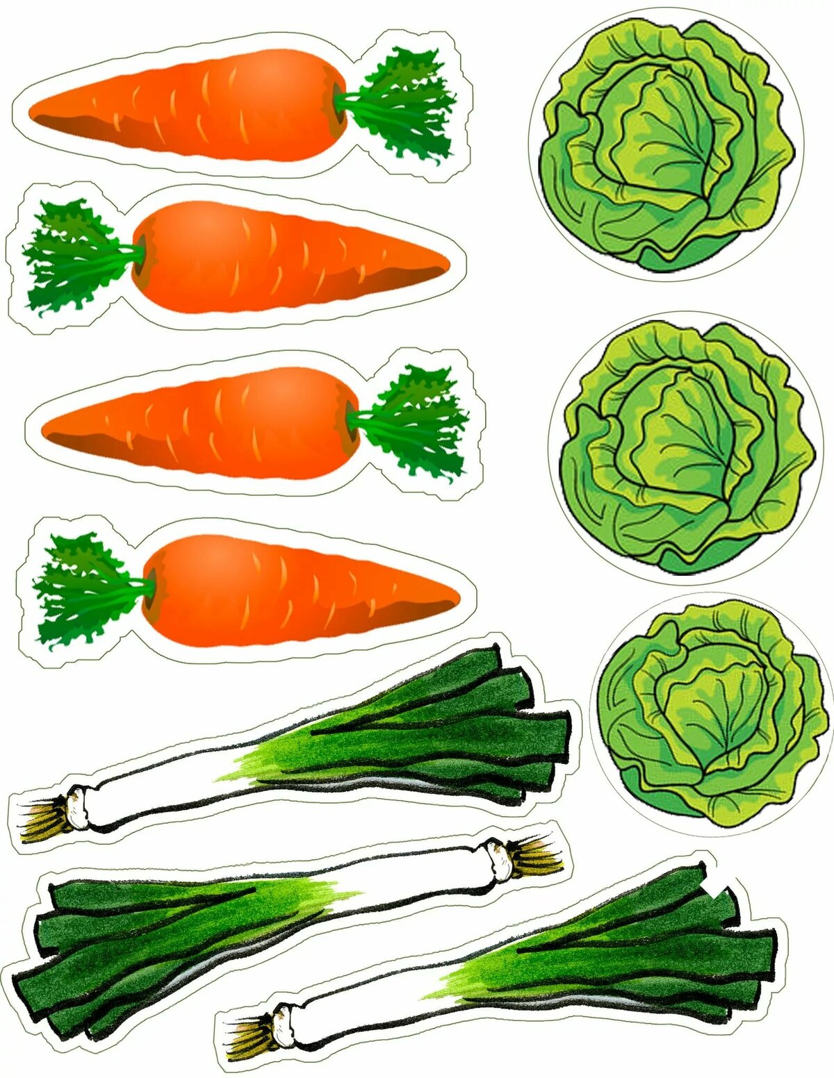 формы овощей в картинках доме газ