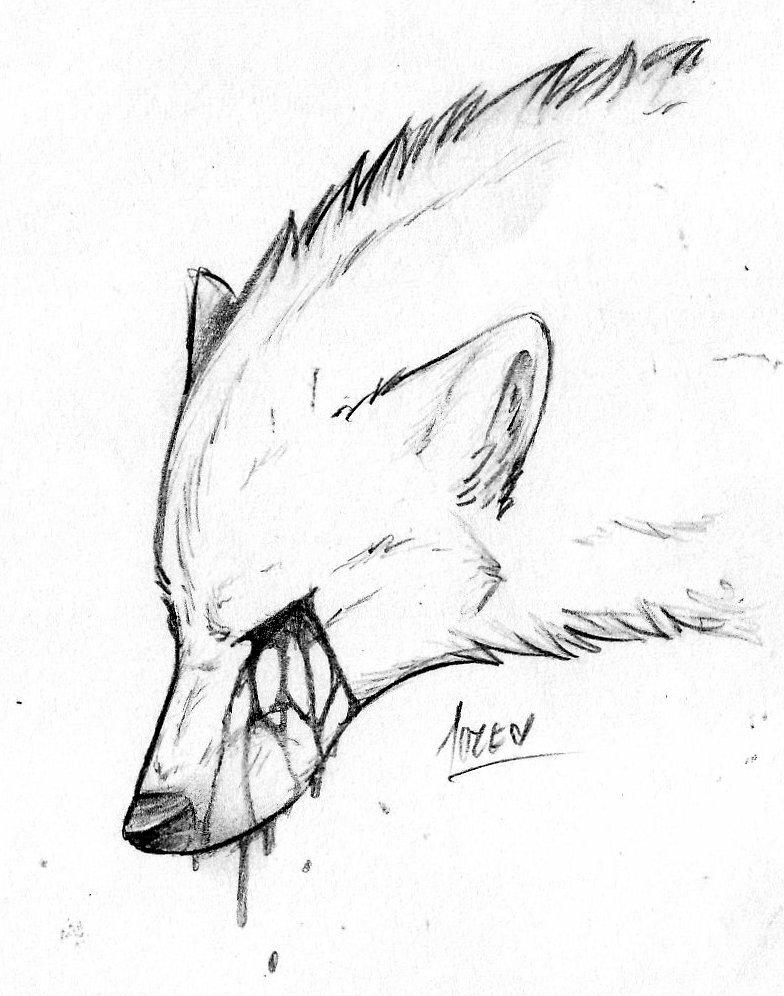 Нарисовать грустные рисунки легко нарисовать животных