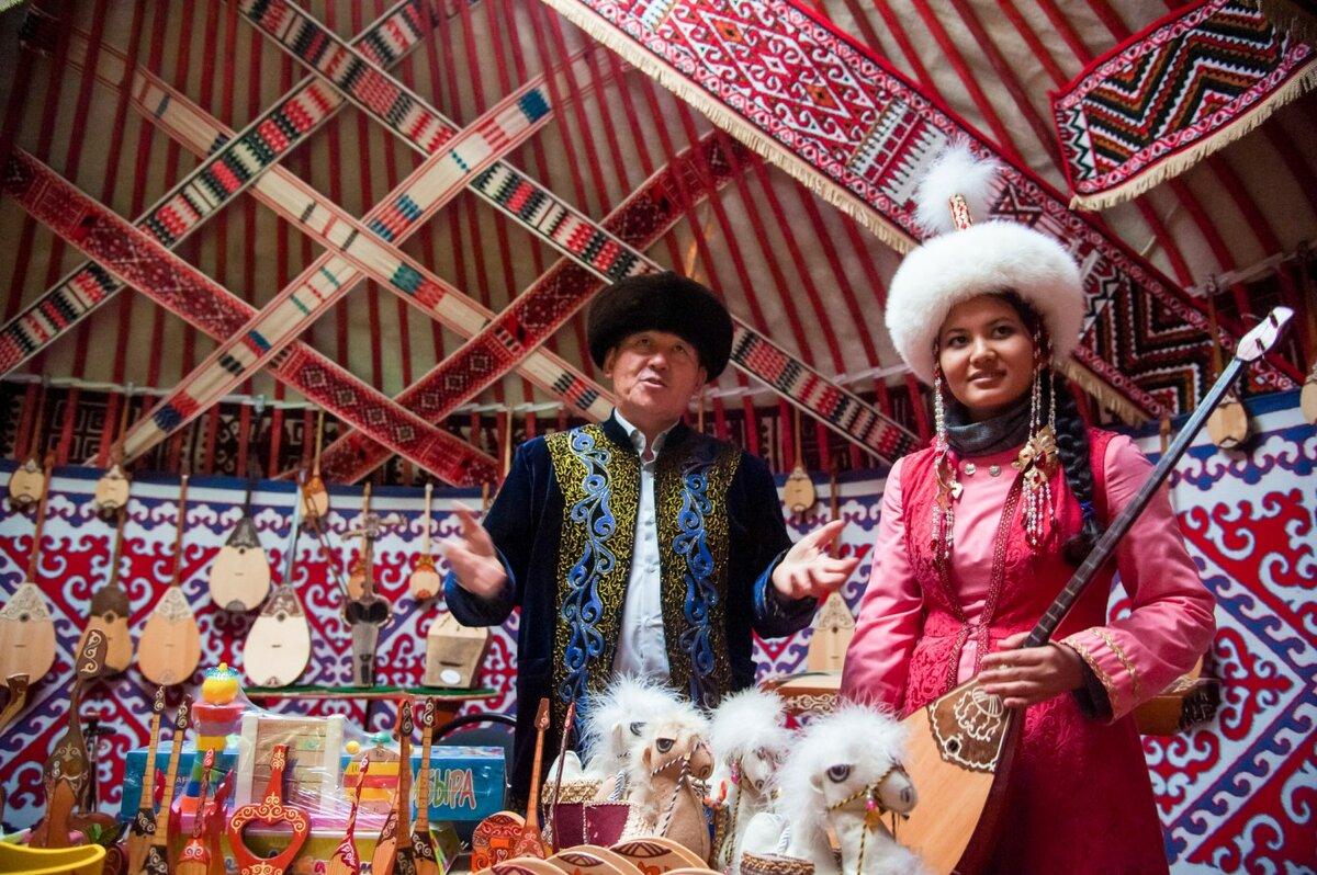 Национальные картинки казахов