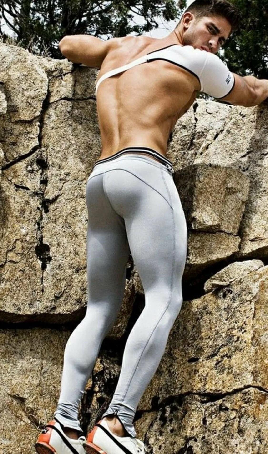 Ass gay in man pants tight tight