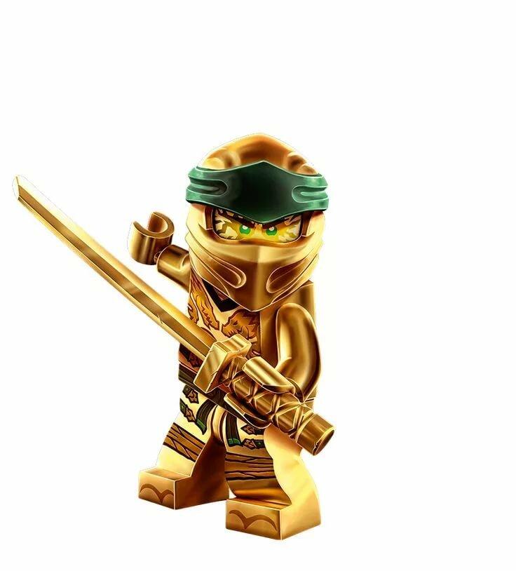 Золотой ниндзяго картинки