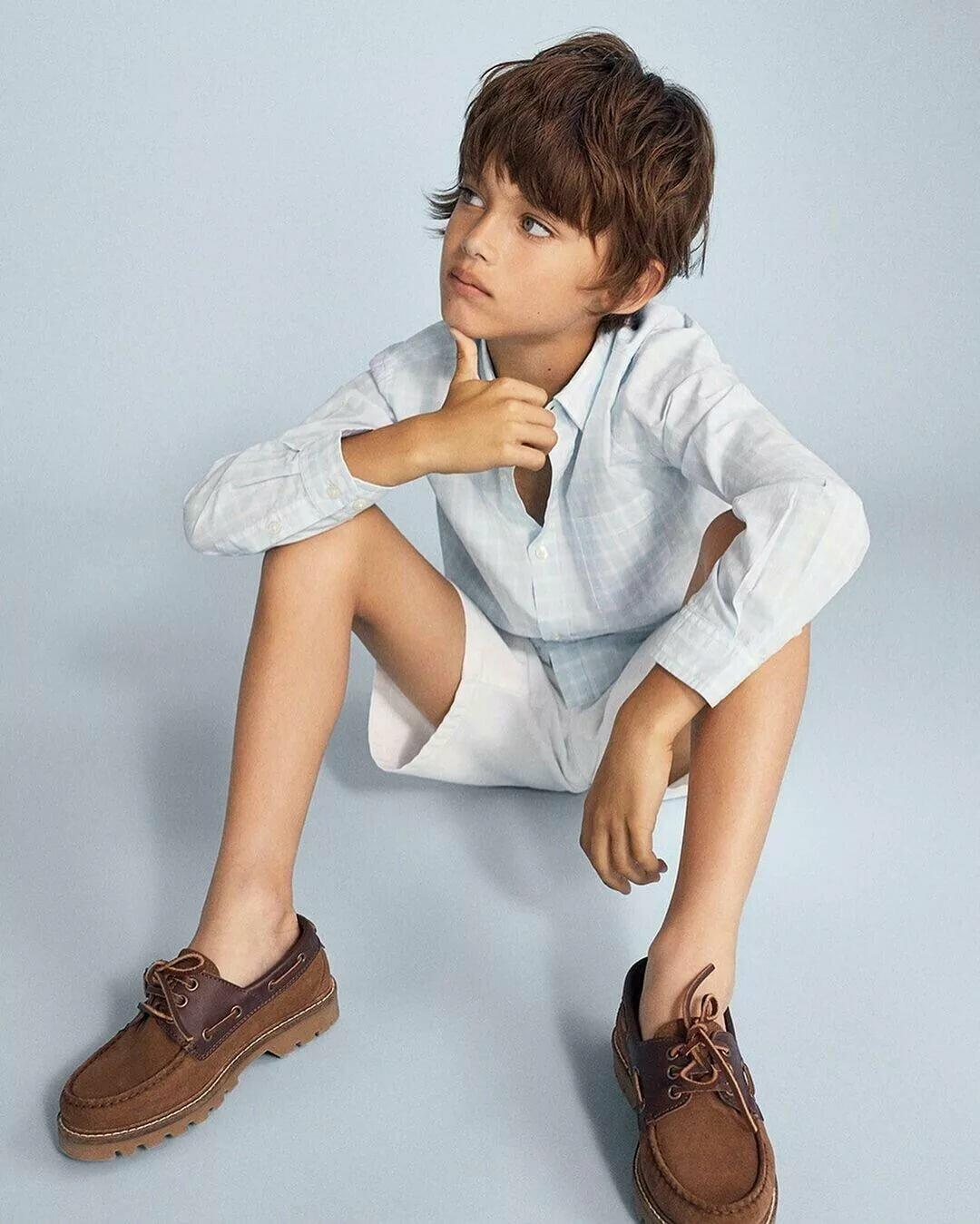 Youngest little boys girls models