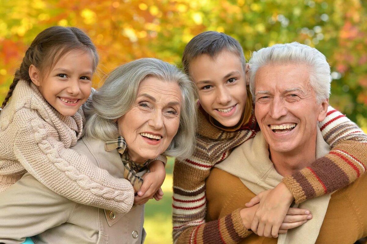 Поздравление деду и бабке