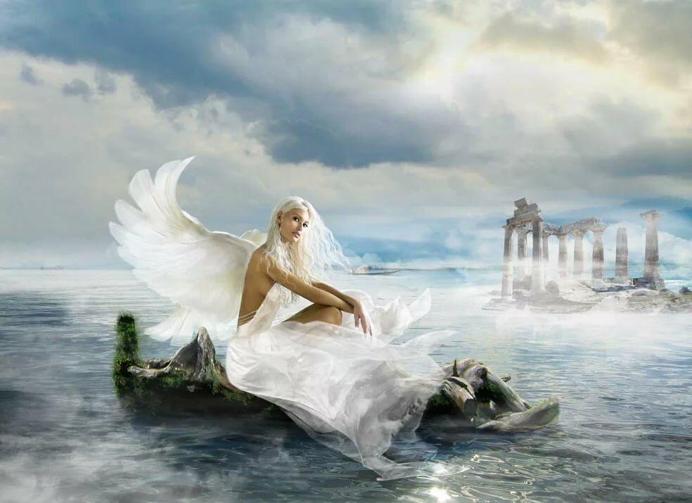 Картинки душа ангелы