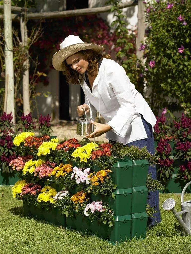 картинки клумбы сад и огородника распространяться