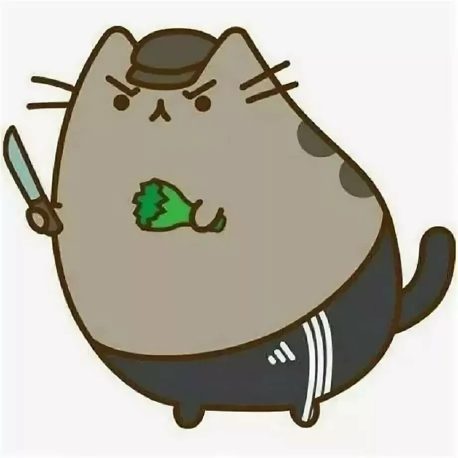 Картинки серого толстого кота из мультика