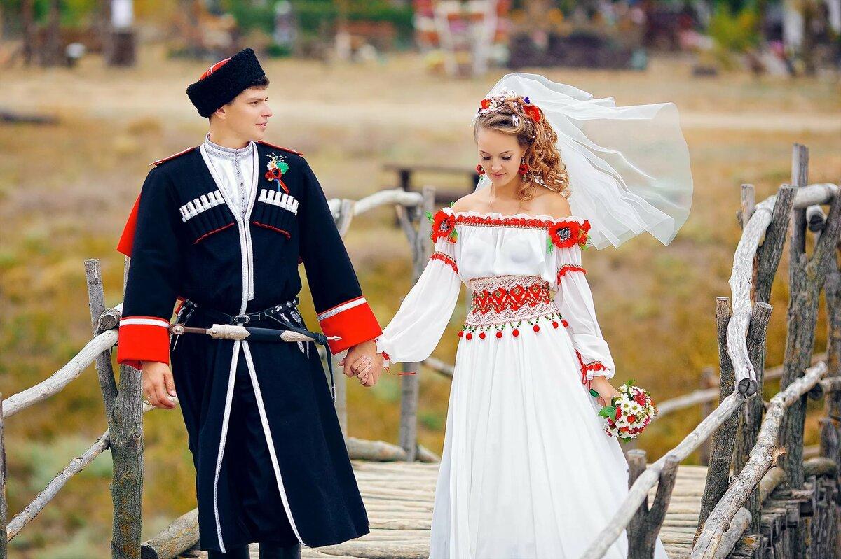 Картинки одежд казака и казачки