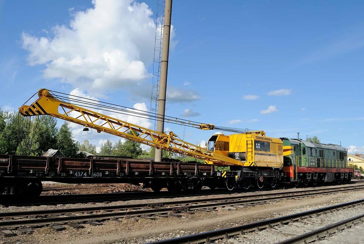 Железнодорожные краны картинки