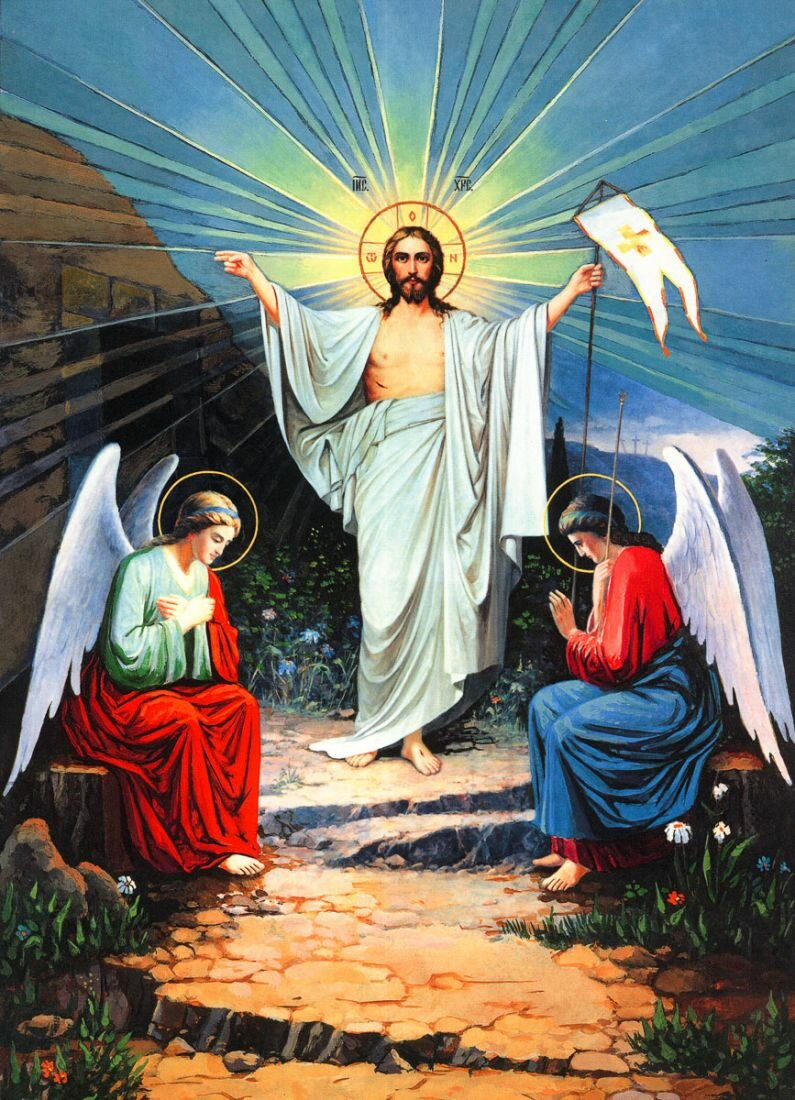 Христос воскрес картинки пятидесятников