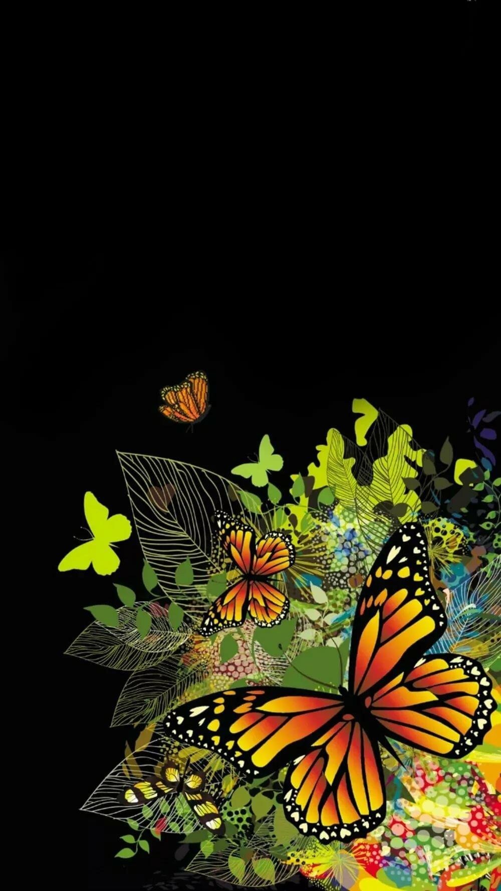 Бабочки на андроид картинка
