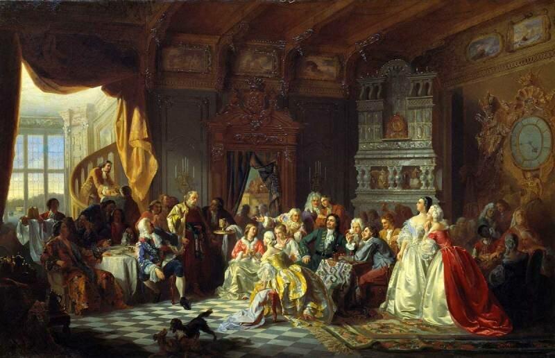 14 января 1700 года Петр I повелел дворянам носить европейские костюмы