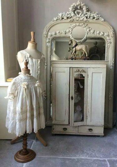 шкаф в стиле шебби шик