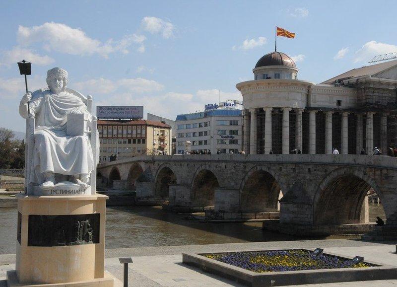 Памятники Скопье