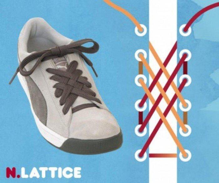 Картинки как прикольно завязывать шнурки на кроссовках, благодарностью