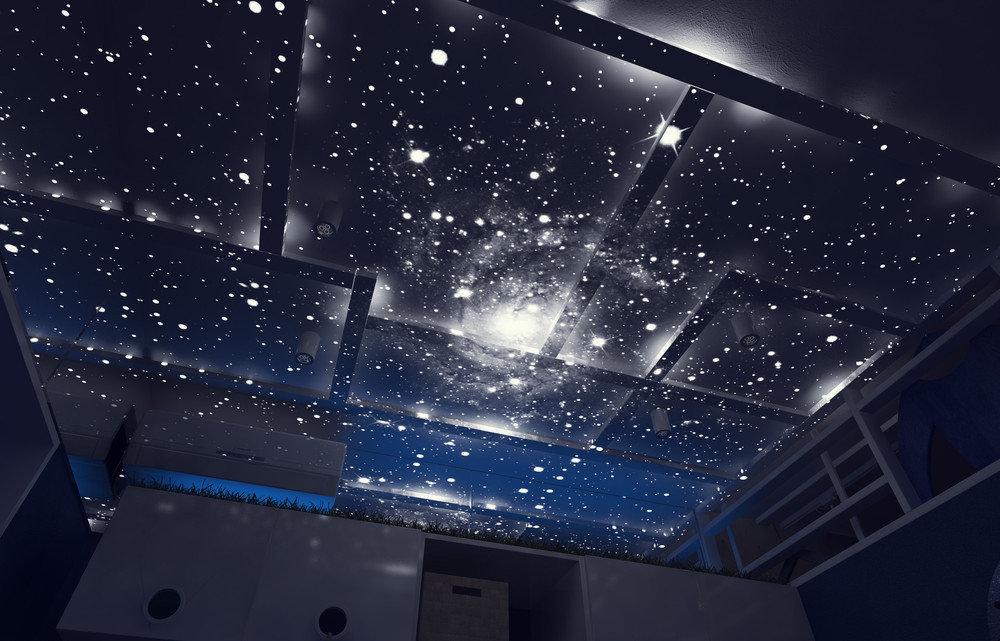 навесные потолки звездное небо фото обязаны быть