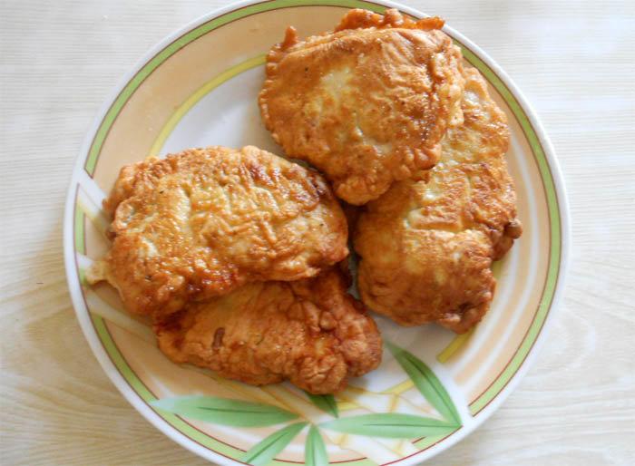 Простые отбивные из куриного филе