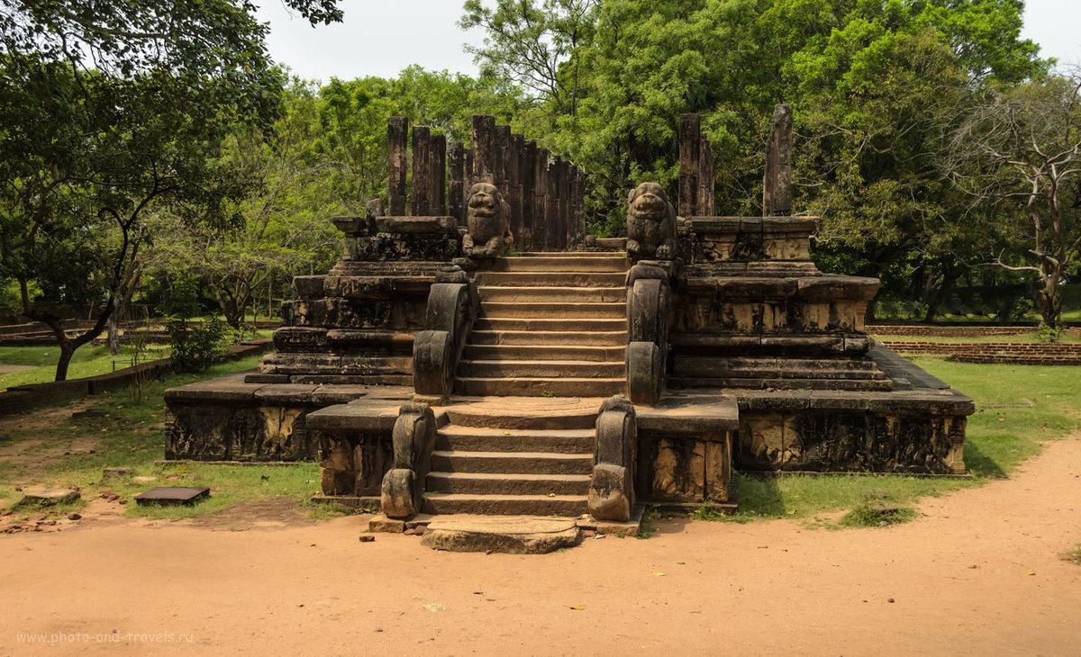 Полоннарува – древняя столица Шри-Ланки