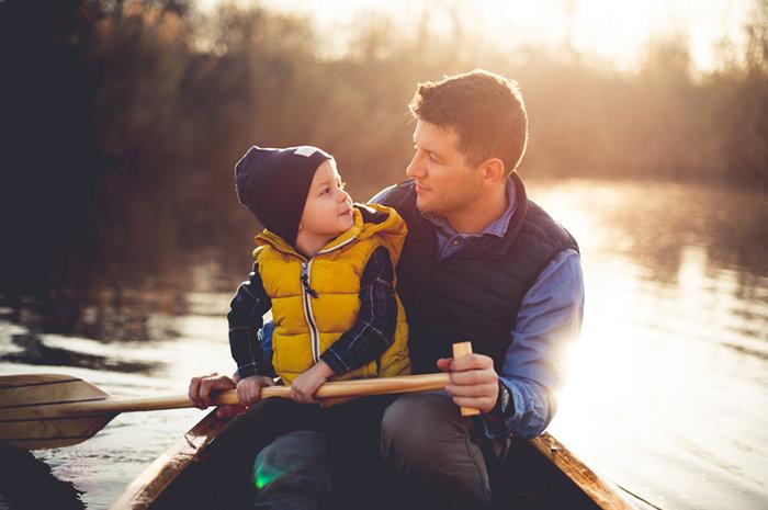 Картинки папы с сыном, днем