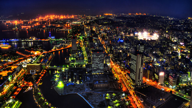 Токио, ночь