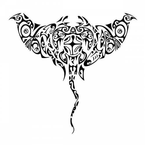 обязанности выполняет эскизы тату скат в полинезийском стиле запрос