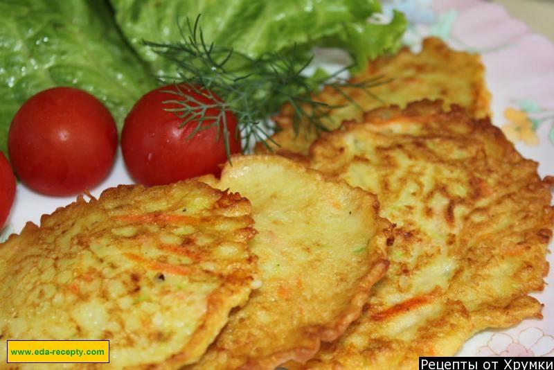 блины из картофеля и кабачков