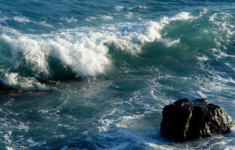 Море волны гифка