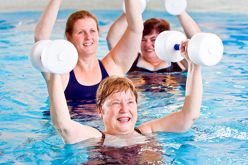 похудение и плавание