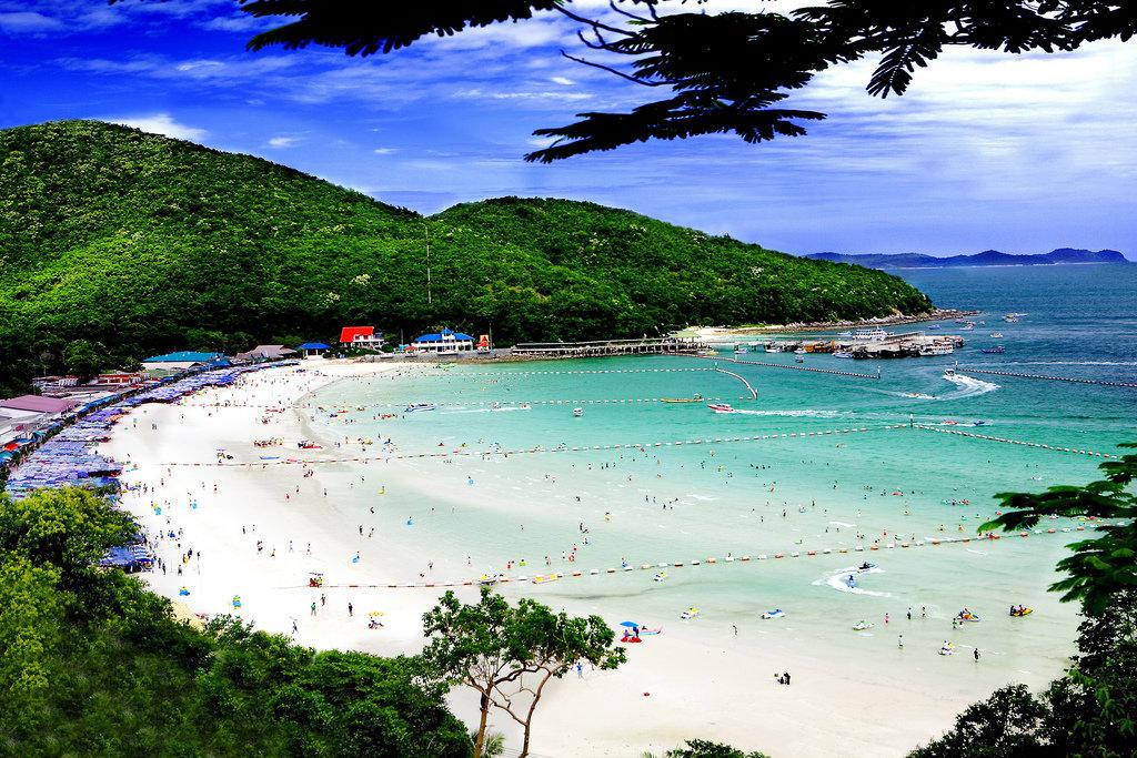 остров ко лан паттайя пляжи или работа язычком