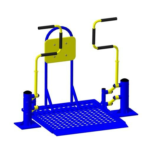 Тренажер для инвалидов «Жим на платформе»
