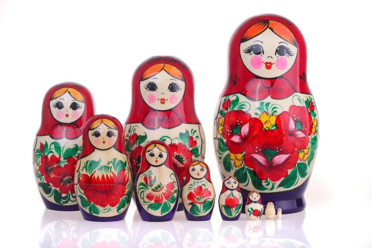 Картинки матрешек русских, органы