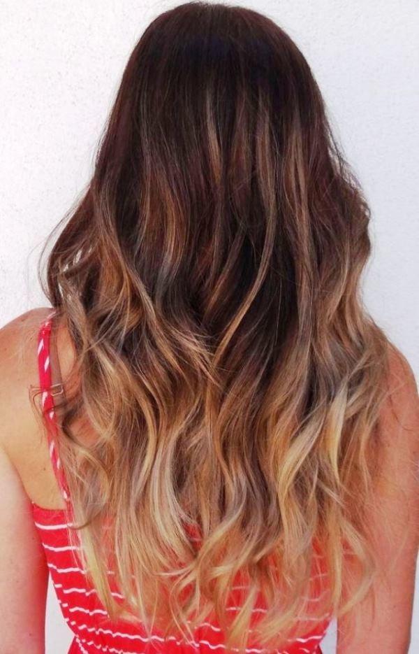 Окрашивание волос шатуш, фото