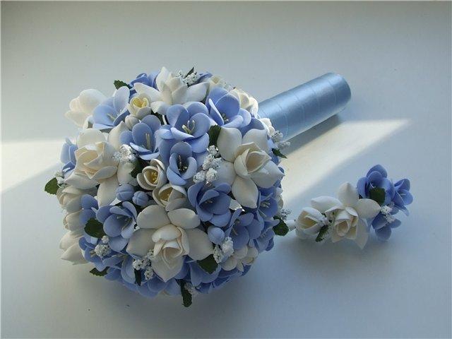 269Фото свадебный букет из фоамирана своими руками