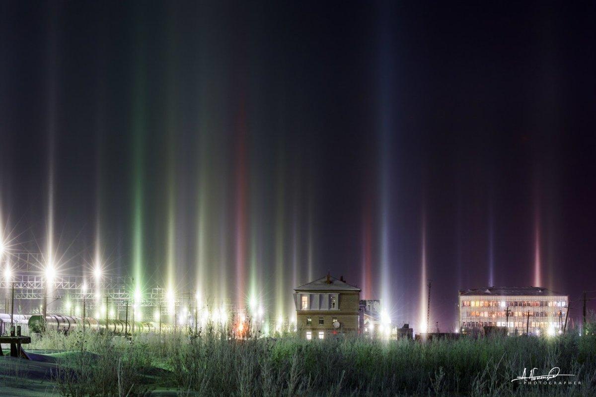 фото природных световых эффектов выполнении мастер