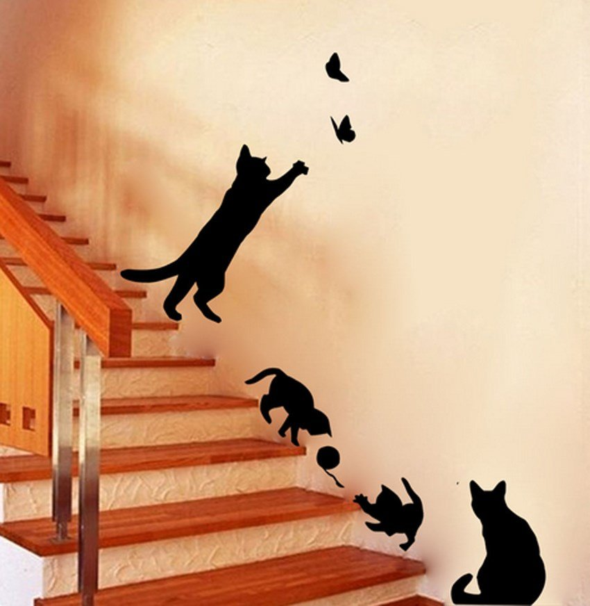 Прикольные лестницы в рисунке