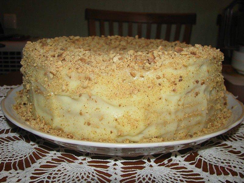 Вкуснейший торт из вафельных коржей фото
