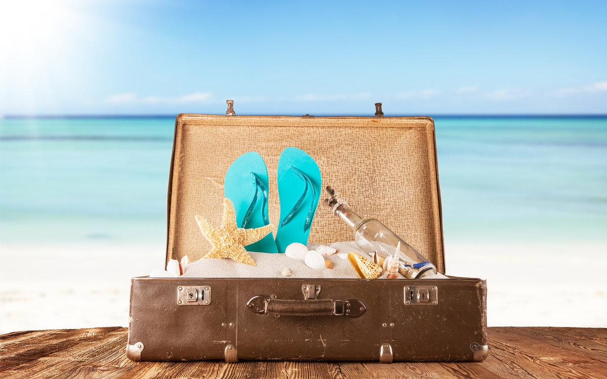 Картинки с чемоданом в отпуск, открытках хорошего