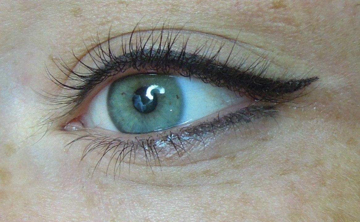 фото перманентного макияжа глаз правило