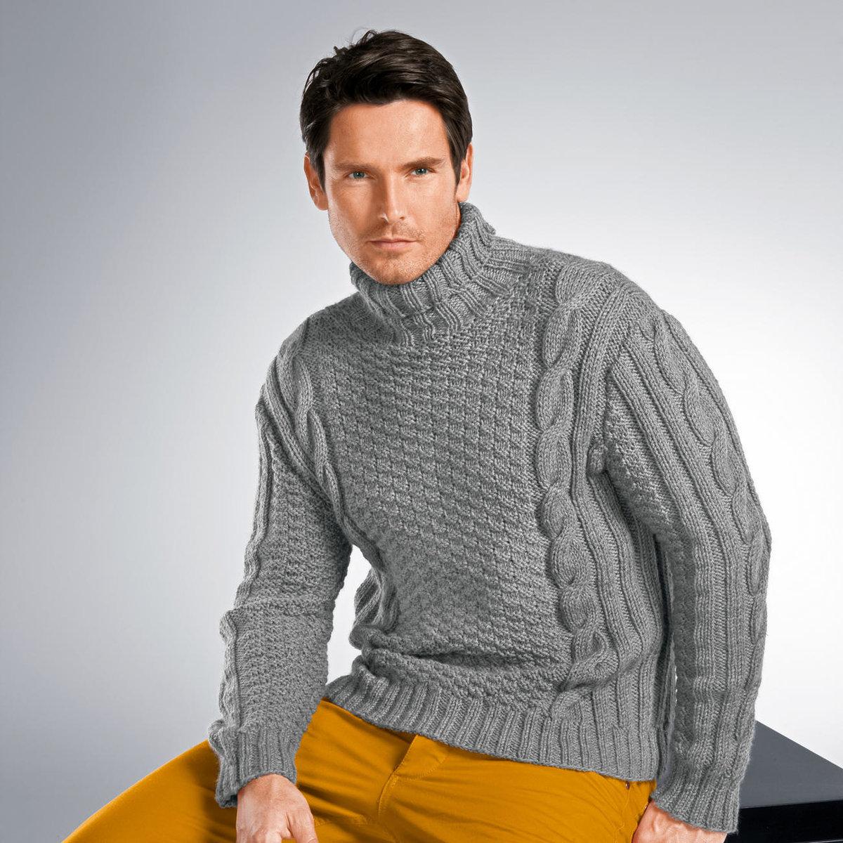 ливии свитера крупной вязки мужские картинки гость компании обратит