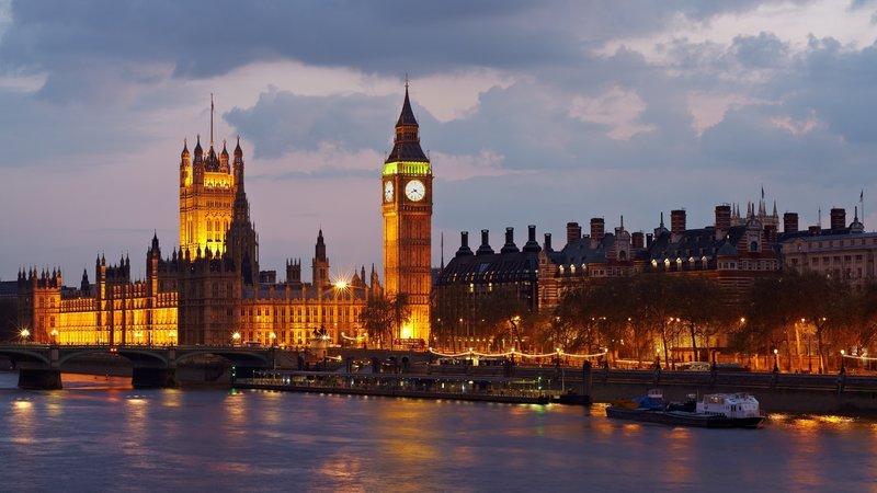 Лондон Биг Бэн, размер: 1366x768 пикселей