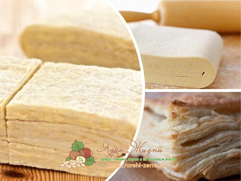дрожжевое слоеное тесто рецепт