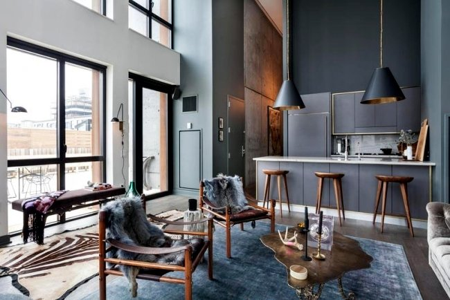 Modern Apartment In New York With Sleek Furnishings And Decoration Interior Design Ideas Ofdesign