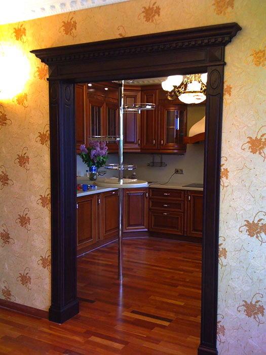 Арка на кухню вместо двери цена
