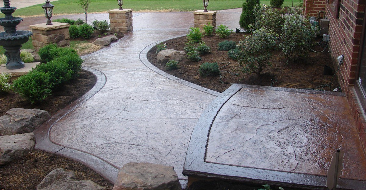 декоративный бетон что это такое